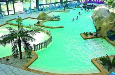 Camping L'Ocean Indoor Swimming Pool