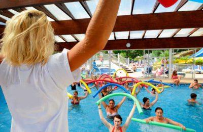 Campsite Lou Pignada Pool Fitness