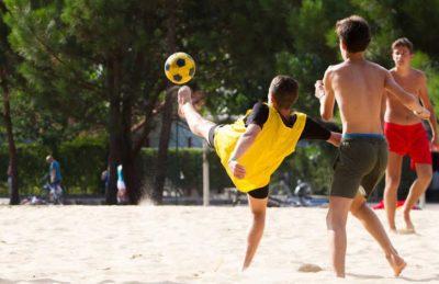 Campsite Lou Pignada Sports
