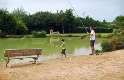Campsite Port'land Pitch Only Fishing
