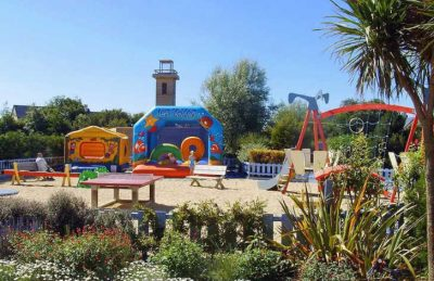 Campsite Port'land Pitch Only Play Area