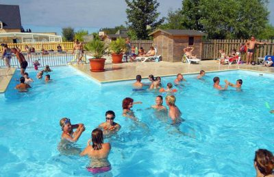 Campsite Port'land Pitch Only Swimming Pool Fun