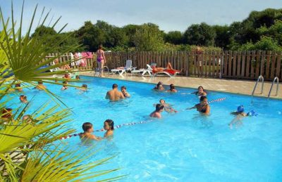 Campsite Port'land Pitch Only Swimming Pool