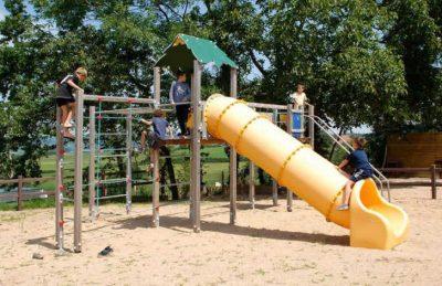 Campsite Village des Meuniers Playground