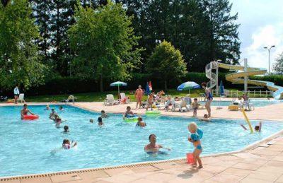Campsite Village des Meuniers Pool Fun