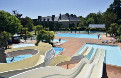Chateau de Galinee Campsite Swimming Pool
