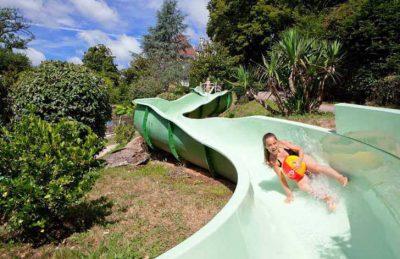 Chateau le Verdoyer Pool Slide