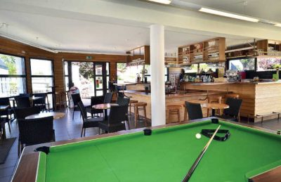 Des Menhirs Bar Snooker Table