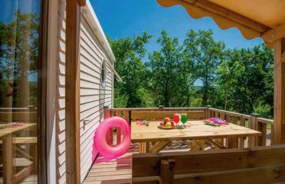 Domaine de Chaussy Mobile Home Accommodation