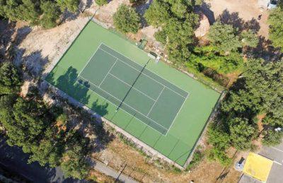 Domaine de Massereau Overview Tennis Court