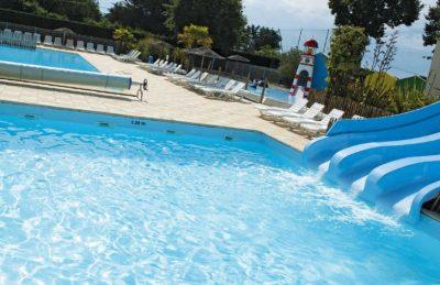 Domaine d'Oleron Pool Slides