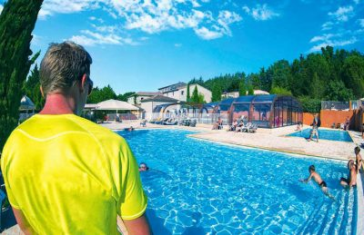 Domaine du Cros d'Auzon Swimming Pool