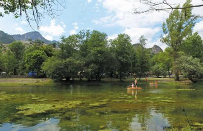 Domaine du Verdon Lake