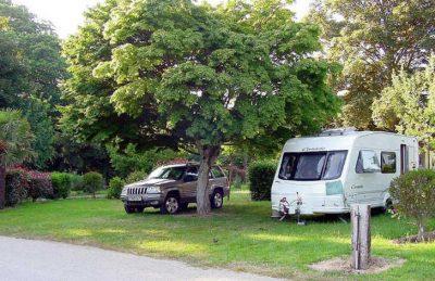 Domaine L'Orangerie de Lanniron Caravan Pitch