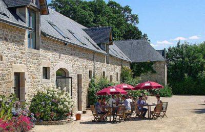 Domaine L'Orangerie de Lanniron Setting