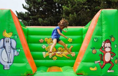 Flower Camping le Rompval Children's Inflatables
