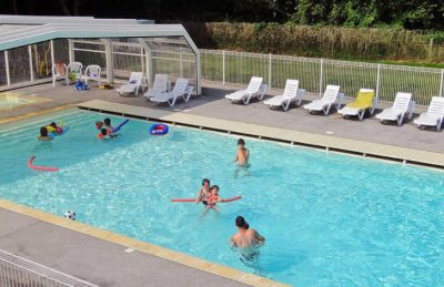 Flower Camping le Rompval Pitch Only Pool