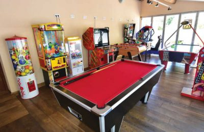 Holiday Marina Games Room