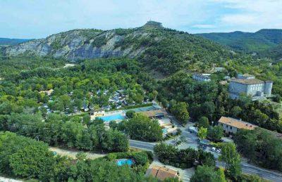 La Bastide en Ardeche Campsite Overview