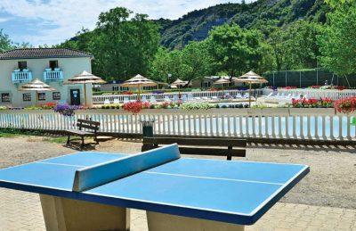 La Bastide en Ardeche Table Tennis