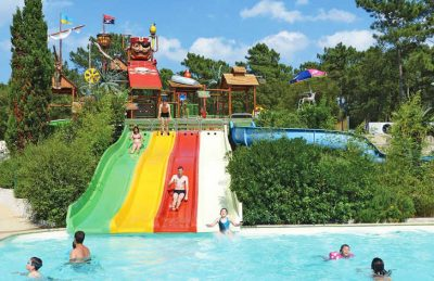 La Cote d'Argent Pirate Ship Slide Pool