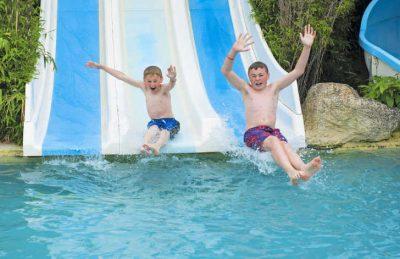 La Cote de Nacre Swimming Pool Slides