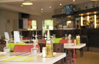 La Cote de Nacre Restaurant Area