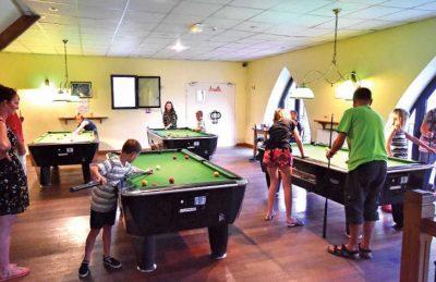 La Croix du Vieux Pont Games Room