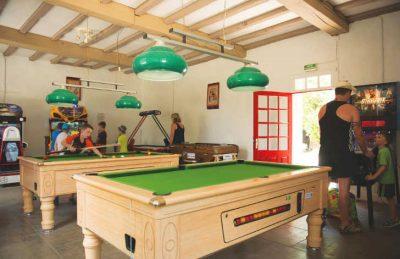 Campsite Games Room