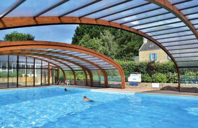 La Grande Metairie Campsites Covered Swimming Pool