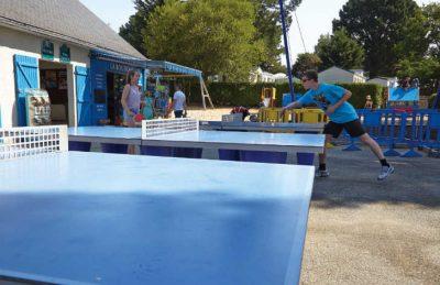 La Grande Metairie Table Tennis Tables