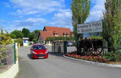 La Vallee de Deauville Parc Entrance