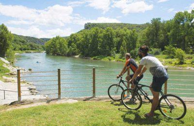 L'Ardechois Campsite Cycling