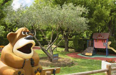 L'Ardechois Pitch Only Children's Play Area