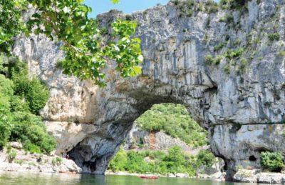L'Ardechois Campsite River Scenery