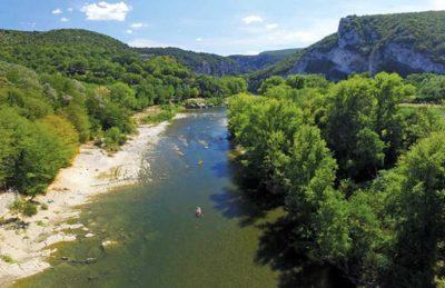 L'Ardechois Campsite River