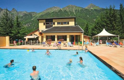 Le Belledonne Swimming Pool Area