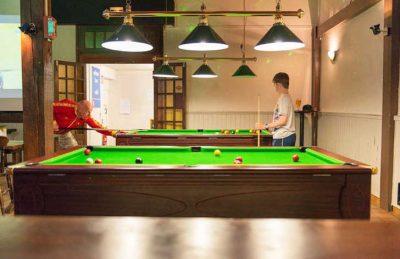 Le Bois Masson Games Room Snooker