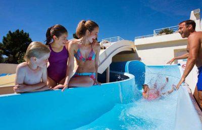 Le Bois Masson Pool Slides