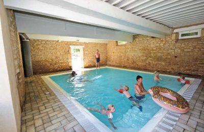 Le Domaine de L'Eperviere Indoor Pool