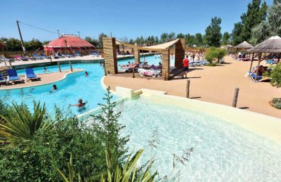 Le Mediterranee Plage Pool Overview