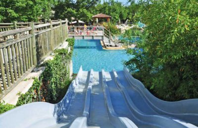 Le Ranc Davaine Bridge Slide Pool