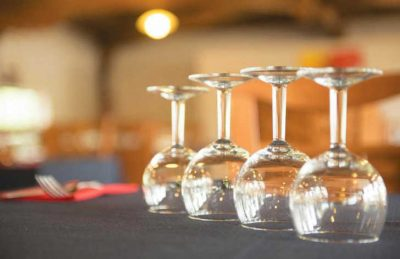 Le Ranc Davaine Restaurant Wine Glass