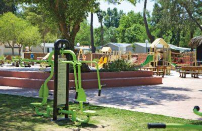 Le Soleil Outdoor Gym