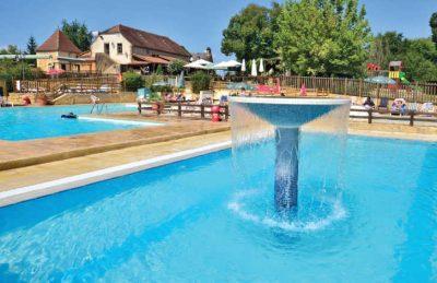 Les Grottes de Roffy Pool Fountain