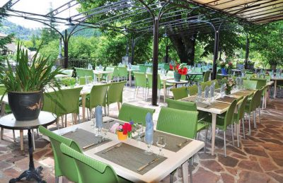 Les Ranchisses Restaurant Dining Area