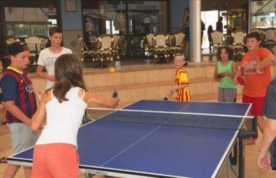 L'Oceano d'Or Table Tennis