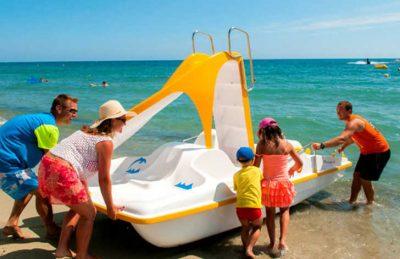 Marina d'Erba Rossa Beach Fun