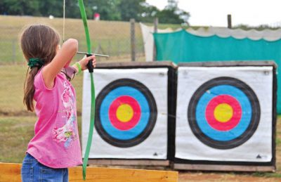 Archery and Games