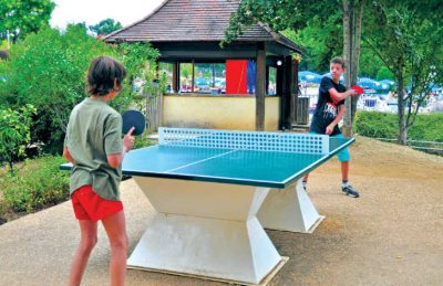 Camping Table Tennis